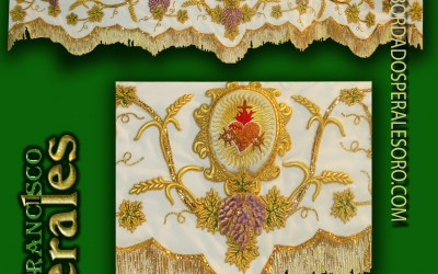 Palio bordado de Corpus Christi