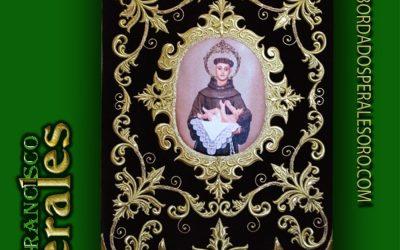 Estandarte bordado de San Antonio de Padua
