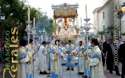 Traje de pertiguero y cuerpo de acólitos de la Virgen del Prado, Ciudad Real