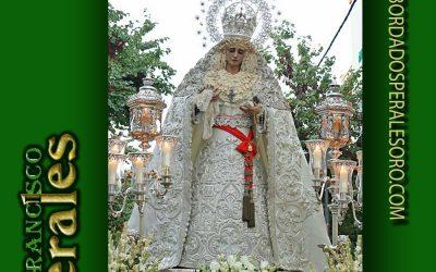 Horarios de la Extraordinaria de la Paz de Sevilla por su Coronación Canónica