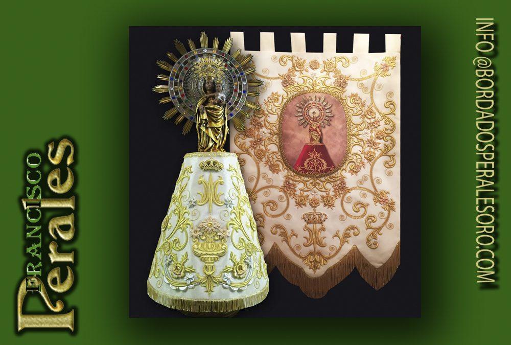 Bordados para la Virgen del Pilar