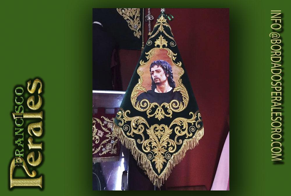 Banderin bordado San Juan Evangelista