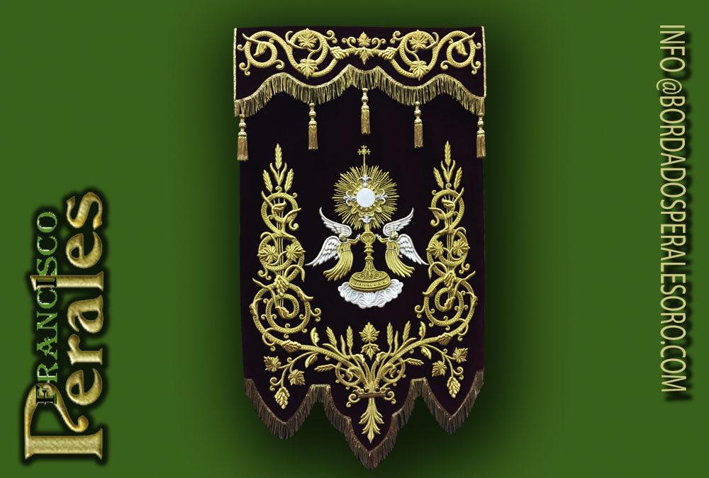 Estandarte bordado Corpus Christi