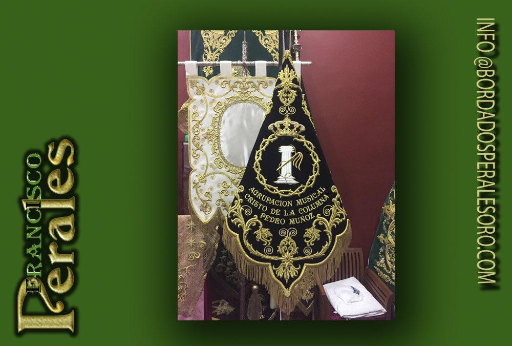 Banderín bordado para Agrupación Musical