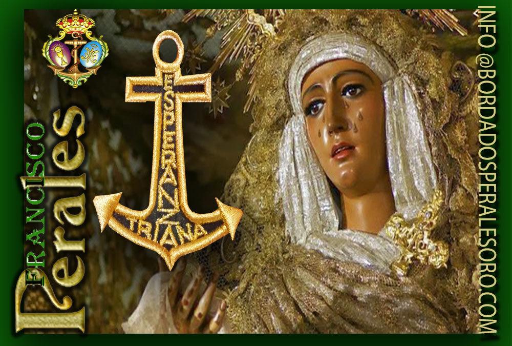 los itinerarios para los traslados de Nuestra Señora de la Esperanza a la Santa Iglesia Catedral,bordados en oro Reinosa