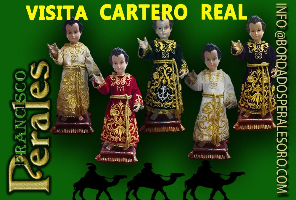 El Cartero Real de sus Majestades los Reyes Magos de Oriente en Oviedo.
