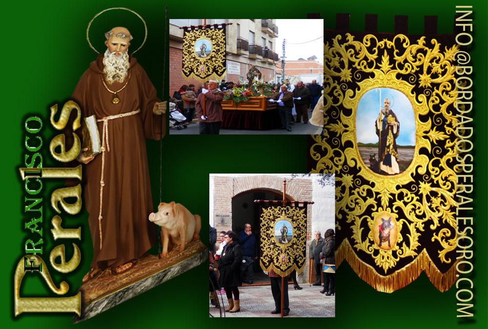 Día De San Antonio De Abad Patrón De Los Animales En Islas Baleares Bordados Perales Oro