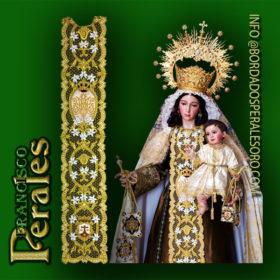 NOVEDAD- Estolón Virgen del Carmen Modelo 01