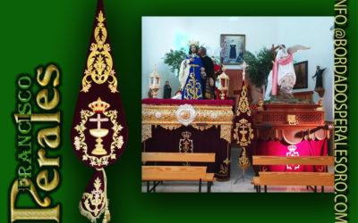 Almendralejo en Badajoz nuevo Bacalao Hermandad y Real Cofradía de Ntro.Padre Jesús Orando en el Huerto y el Beso de Judas.