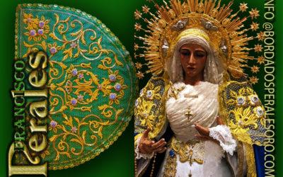 La Roda de Andalucía en Sevilla estrena Toca para la Virgen de la Mediación de la Hermandad del Santo Cristo del Perdón.