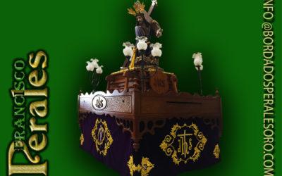 Faldón para la Hermandad del Nazareno de Almuradiel.