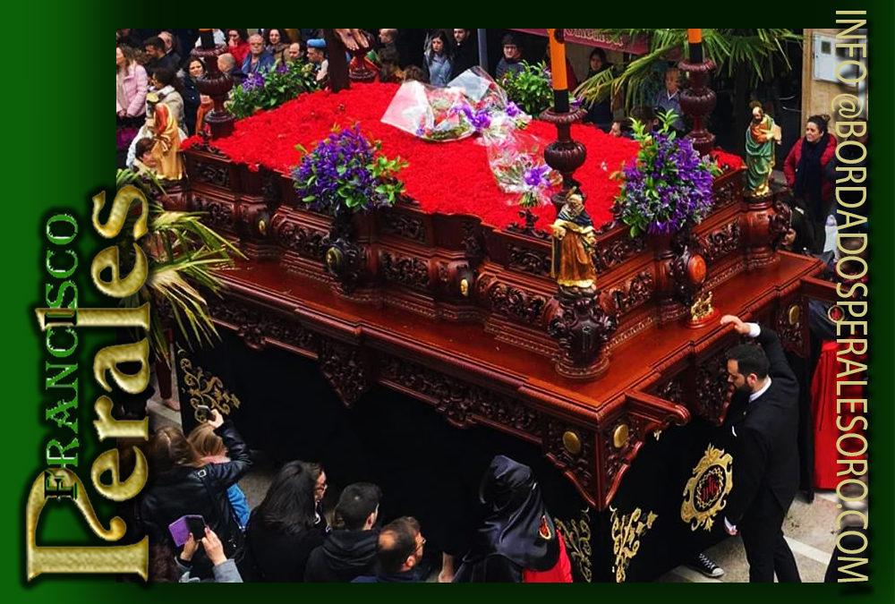 Faldón para la Hermandad del Santísimo Cristo de la Buena Muerte de La Carolina.