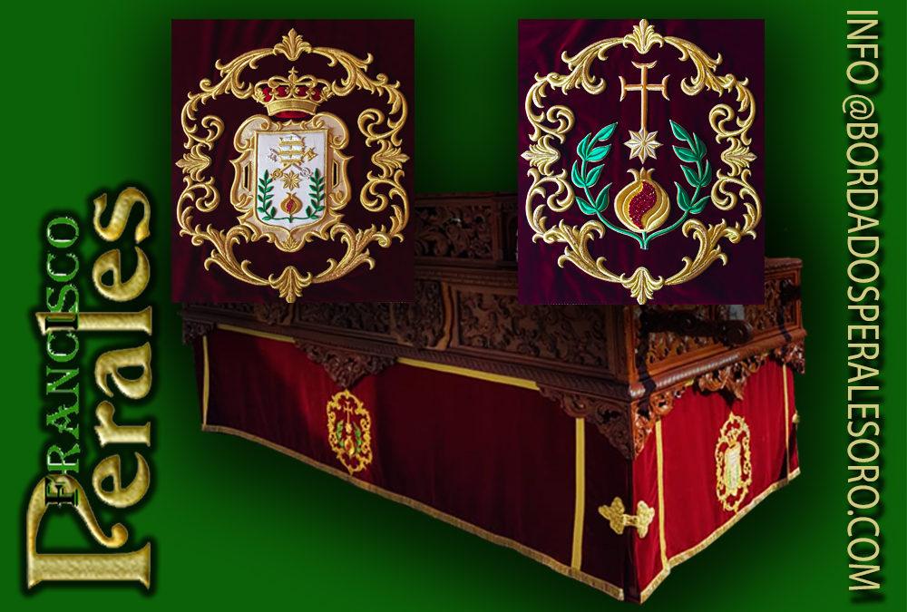 Faldón para la Hermandad de San Juan de Dios de Ciempozuelos en Madrid