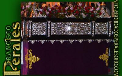 Faldón para el paso del Calvario de la Hermandad del Santo Sepulcro y Soledad de la Virgen en La Solana.