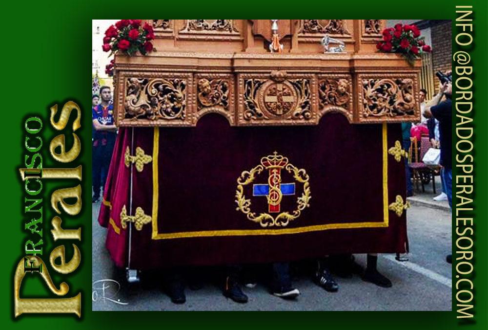 Faldón para laHermandad Nuestro Padre Jesús deMedinaceli de Ciudad Real.