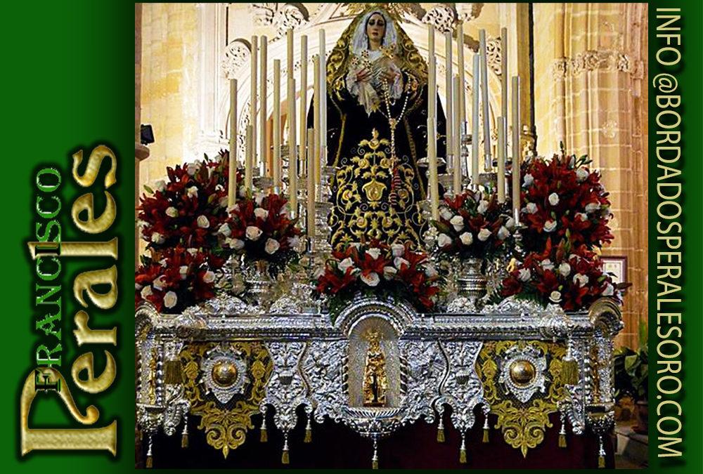 Respiraderos para Nuestra Señora de la Fe de Úbeda.