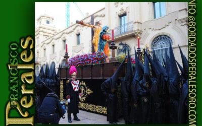 Faldón  para la Hermandad y Cofradía de la Santa Cruz para su paso de Stabat Mater de Logroño.