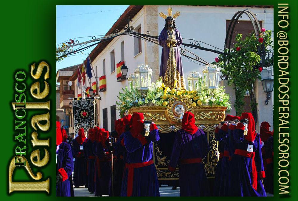 Faldón Jesús de Medinaceli y Santo Sepulcro de La Puebla de Almoradiel.