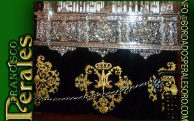 Faldón  para La Hermandad Dominicana del Stmo. Cristo de la Buena Muerte, N.P. Jesús de la Pasión, Ntra. Sra. de los Dolores y Ntra. Sra. de la Esperanza de Salamanca.