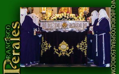Faldónpara la Hermandad deJesús Nazareno de MedinacelideSanta Olalla de Toledo.