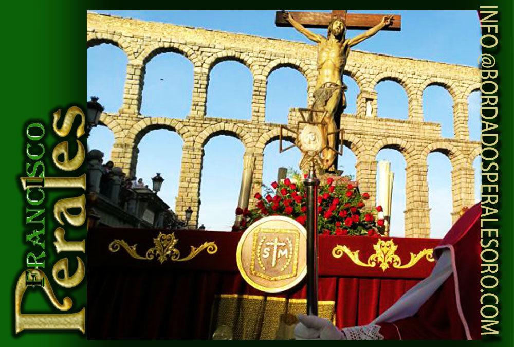 Faldón  para la Hermandad del el Santísimo Cristo en su última Palabra de Segovia.