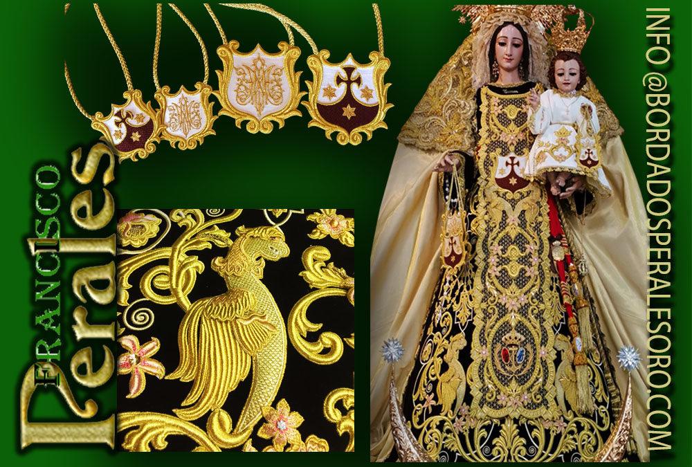 Terno nuevo para la Virgen del Carmen de la Isleta en Gran Canarias.