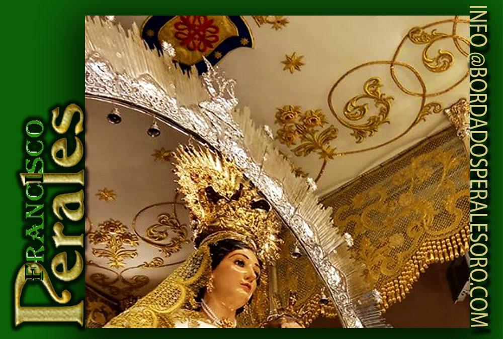 Techo de palio  para la Hermandad Nuestra Señora de la Estrella patrona de la localidad Miguelturra.