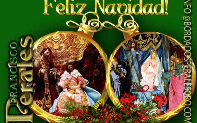 Bordados Perales os desea Feliz Navidad!