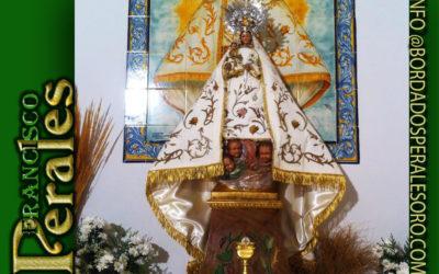 Restauración de manto de Nuestra Señora de Alarilla.