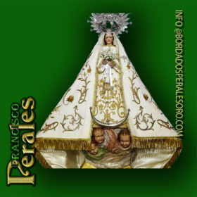 NOVEDAD Restauración de manto de Nuestra Señora de Alarilla, patrona de Fuentidueña de Tajo