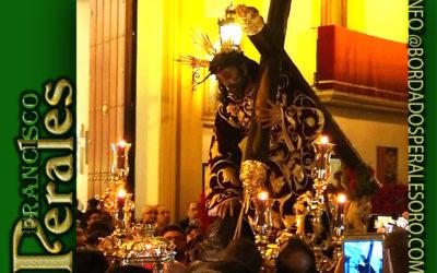 Vía Crucis y traslado Stmo. Cristo de las Tres Caídas en Triana.