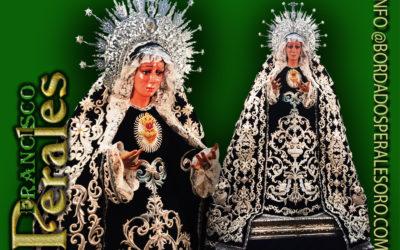 Manto bordado para Nuestra Señora de Gracia y Esperanza.