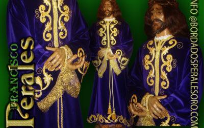 Túnica realizada para Nuestro Padre Jesús de Medinaceli de Getafe en Madrid.