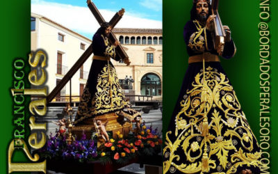 Túnica realizada para la Real Cofradía Jesús Nazareno de Jumilla en Murcia.