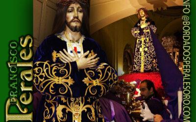 Consolidación y limpieza de túnica para la Archicofradía de la Real e Ilustre Esclavitud de Nuestro Padre Jesús Nazareno Cristo de Medinaceli de Aranjuez en Madrid.