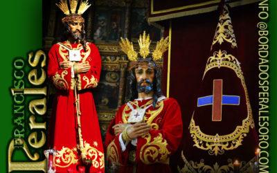 Túnica realizada para Nuestro Padre Jesús del Rescate de Linares.
