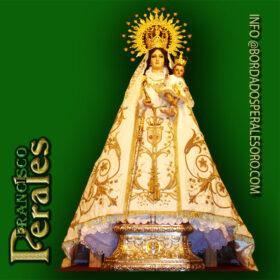 NOVEDAD Restauración manto de Nuestra Señora Santa María de la Cabeza de los Santos de Pozuelos.