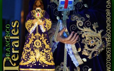 Restauración Túnica de la Hermandad de Nuestro Padre Jesús de Medinaceli de Getafe.