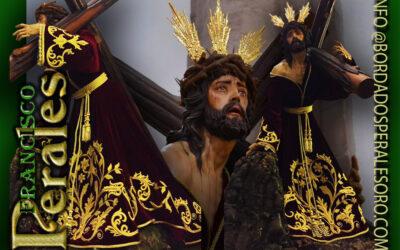 Túnica realizada para Nuestro Padre Jesús Caido de los Armaos de Almagro.
