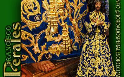Túnica realizada para La Hermandad de Esclavos de Jesús de Medinaceli de Torrevieja.