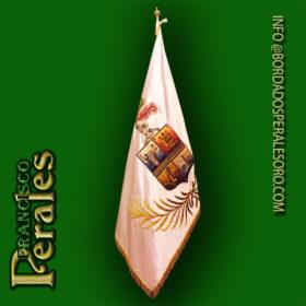 NOVEDAD Restauración de bandera de la Hermandad de Nuestra Señora la Virgen de Gracia y San Roque de