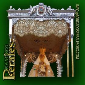 NOVEDAD Restauración y limpieza del palio la Ilustre Hermandad de la Virgen del Prado.