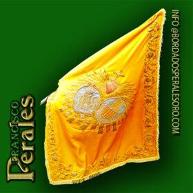 NOVEDAD Restauración Bandera Hermandad del Descendimiento