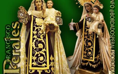 Saya realizada para a Virgen del Carmen de Baeza.