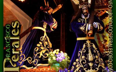 Túnica bordada a mano en hilo de oro fino para la Hermandad de Nuestro Padre Jesús Nazareno de El Bonillo.