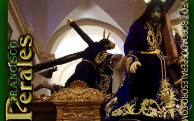 Túnica realizada para Cofradía de Nuestro Maestro Jesús en su Pasión y Muerte de Ajalvir en Madrid.
