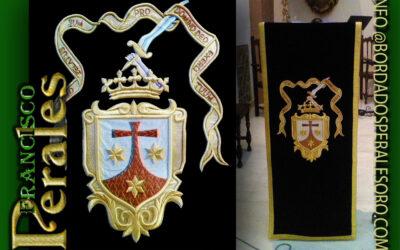 Nuevo paño de la palabra de Dios  para la Hermandad de la Virgen del Carmen de Campo de Criptana.