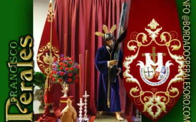 Bacalao bordado para la Hermandad y Cofradía de Nazarenos de Nuestro Señor Jesús de las Penas de Ciudad Real.