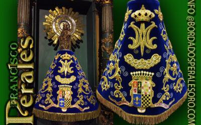 Manto para la Virgen del Pilar de Chinchón en Madrid.